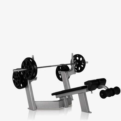 Freemotion Epic Olympic Decline Bench Maquinas De Gym Aparatos De Gym Pesos Libres
