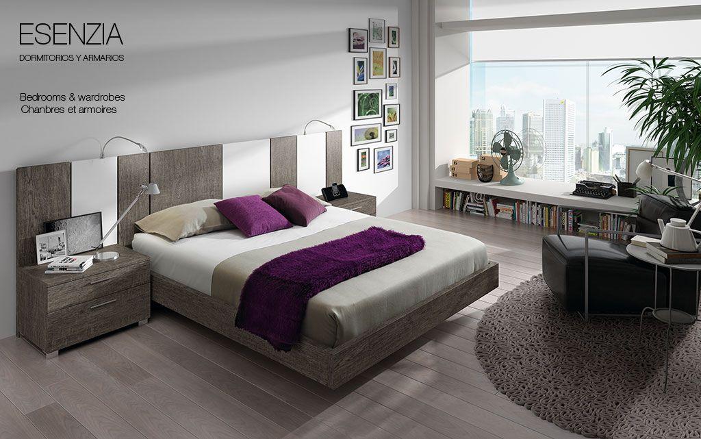 Matrimonio Bed : Dormitorio de matrimonio con un original y atractivo