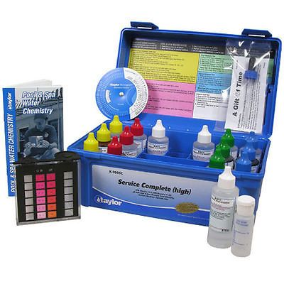 Pool Water Testing and Kits 181059: Taylor K-2005C-8 Service Complete Pool Test Kit K2005c8 -> BUY IT NOW ONLY: $130.86 on eBay!