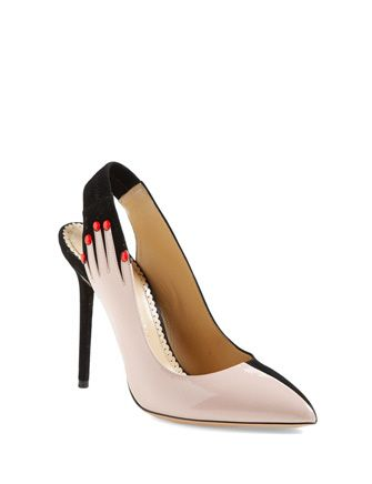 Charlotte Olympia 'Hands Up' Pump
