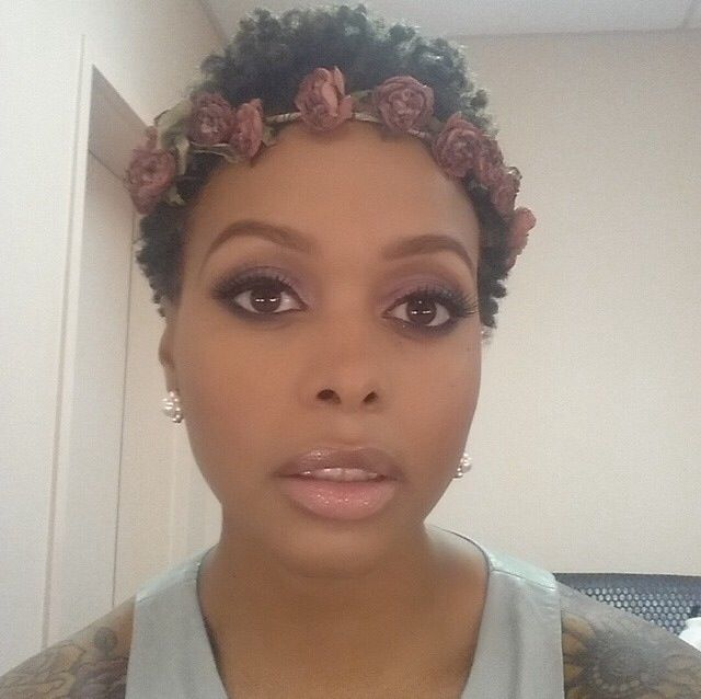 Chrisette Michele Natural Hair Beauty Short Sassy Hair Natural Hair Twa