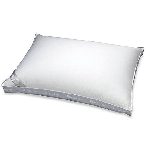 Brookstone® Better Than Down® Side Sleeper Standard Pillow @Bed Bath ...