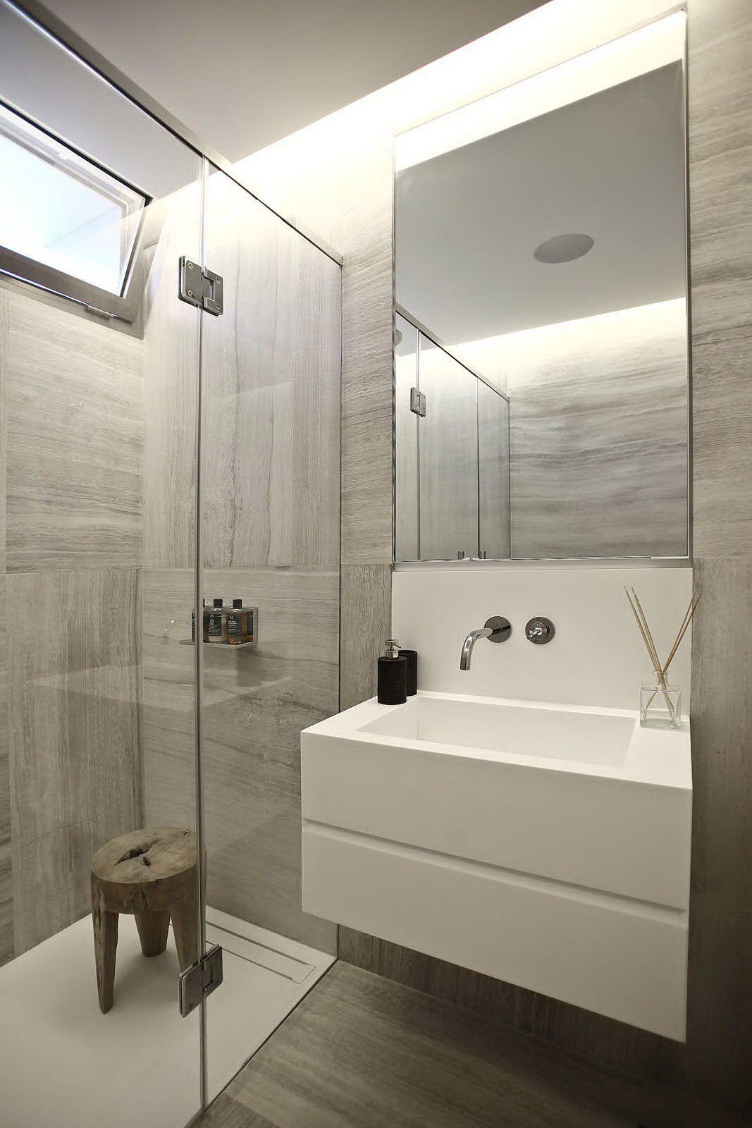 Monochrome bathroom BAOS Pinterest Baos Remodelacin de