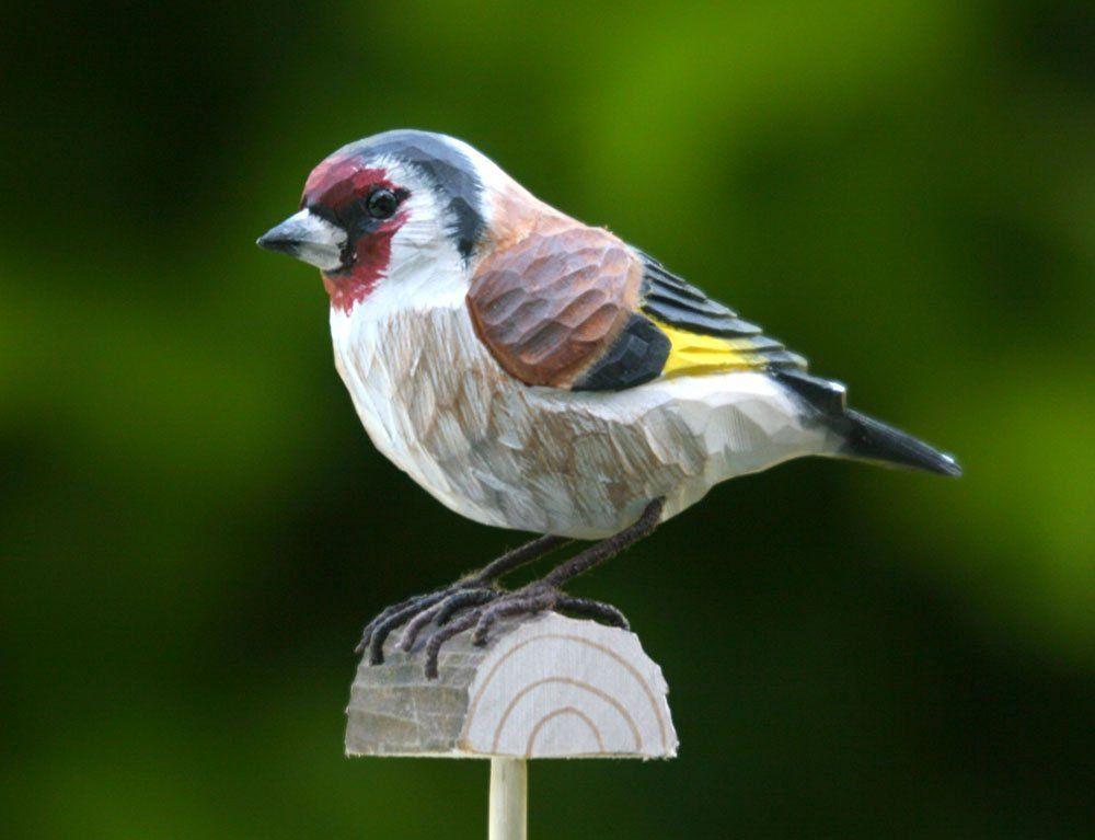 DecoBird Pettirosso Wildlife Garden Amazonit Giardino e