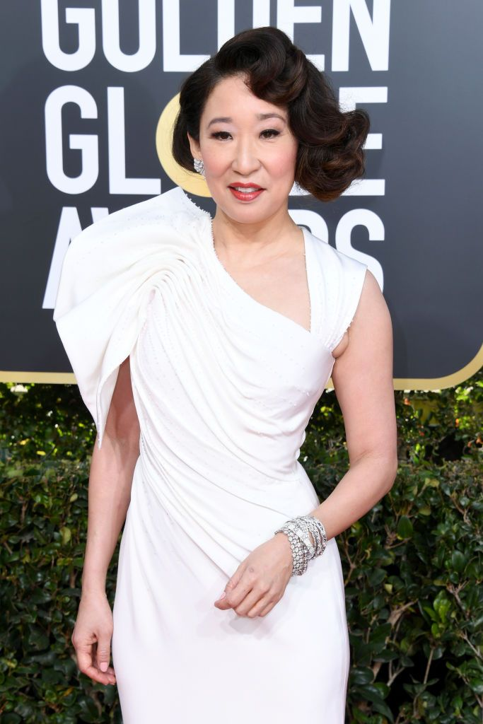 Sandra Oh Attends The 76th Annual Golden Globe Awards At The