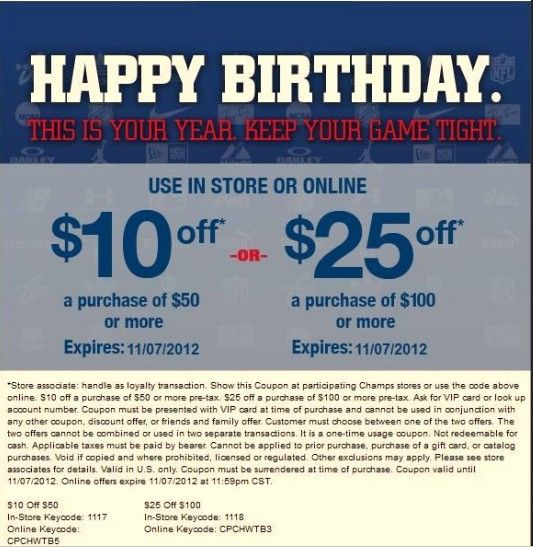 graphic regarding Champs in Store Coupons Printable identify Champs Sports activities: $10-$25 off Printable Coupon Help save some