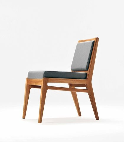 Morgan Oslo Chairs 121 Chairs Feature An Elegant Timber Skeleton With Simple Drop Seat And Back Pads Modern Wood Chair Design Furniture Chair Dining Chairs