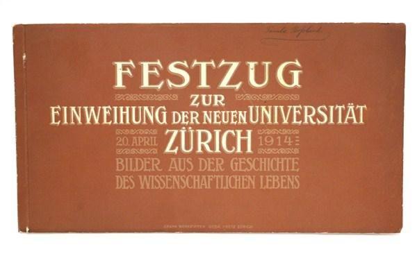 2x Zunft FESTZUG 1914 / 1926 Buch Z rich in Wetzikon ZH kaufen bei ricardo.ch