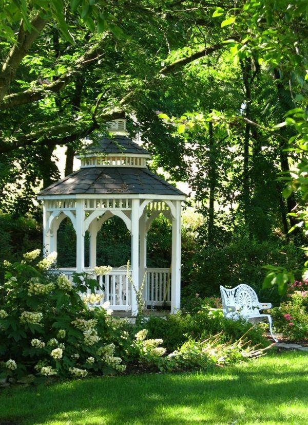 Gartenlauben Aus Holz : 50 gartenlauben aus holz gartenlaube garten pavillon ~ Watch28wear.com Haus und Dekorationen