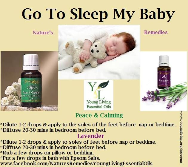 Baby Sleep Young Living Essential Oils For Babies Oils For Sleep Essential Oils For Sleep