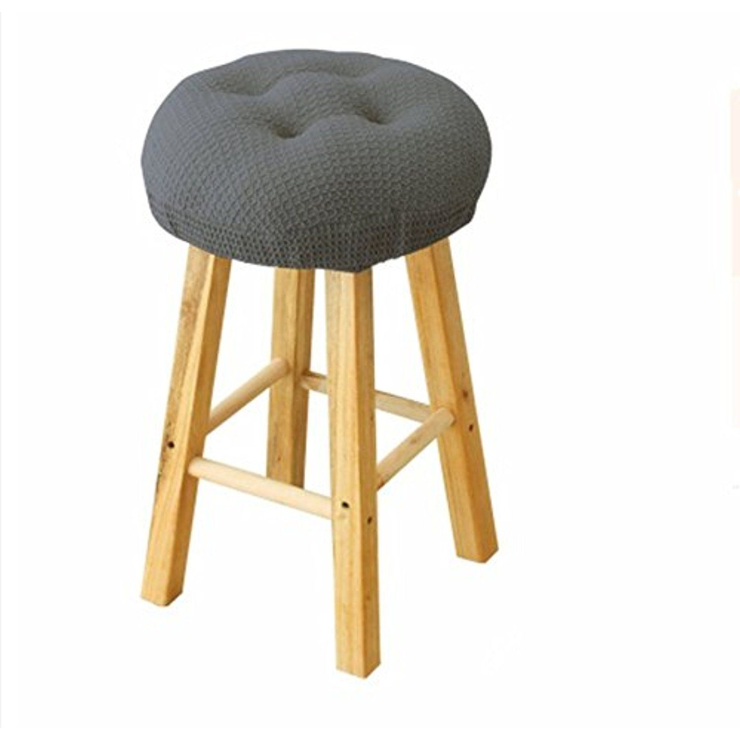 12 Round 31cm Bar Stool Cover Breathable Fabric To Protect Or Make Your Stool Chairs New Suitable For Adjusta Bar Stool Covers Stool Covers Adjustable Stool