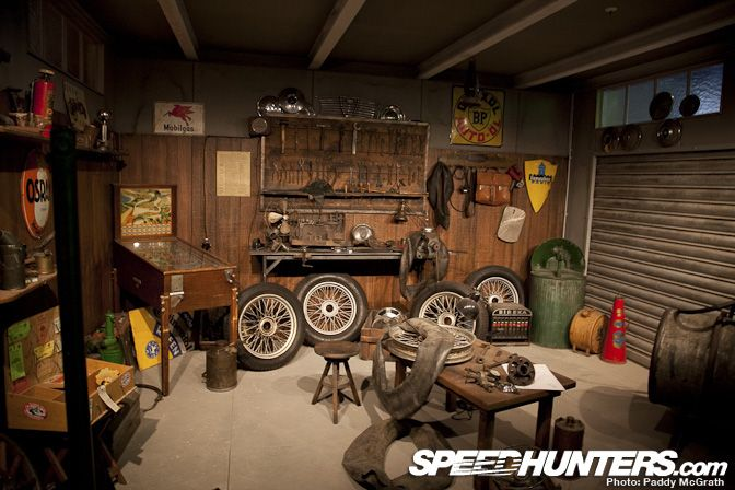 Old Garage Man Cave : Museumsu eu e ring°werk museums man caves and cave