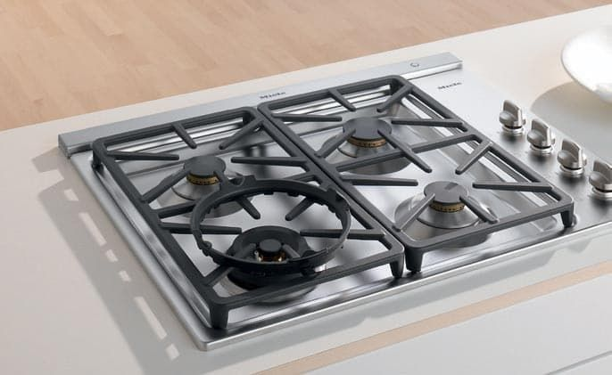 Image Result For Gas Cooktop With Built In Exhaust Fan
