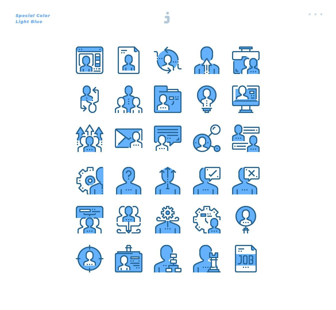 30 Human Resource Icons Light Blue By Justicon On Envato Elements Resources Icon Human Resources Icon Human resources blue icon set by phat plus. 30 human resource icons light blue by