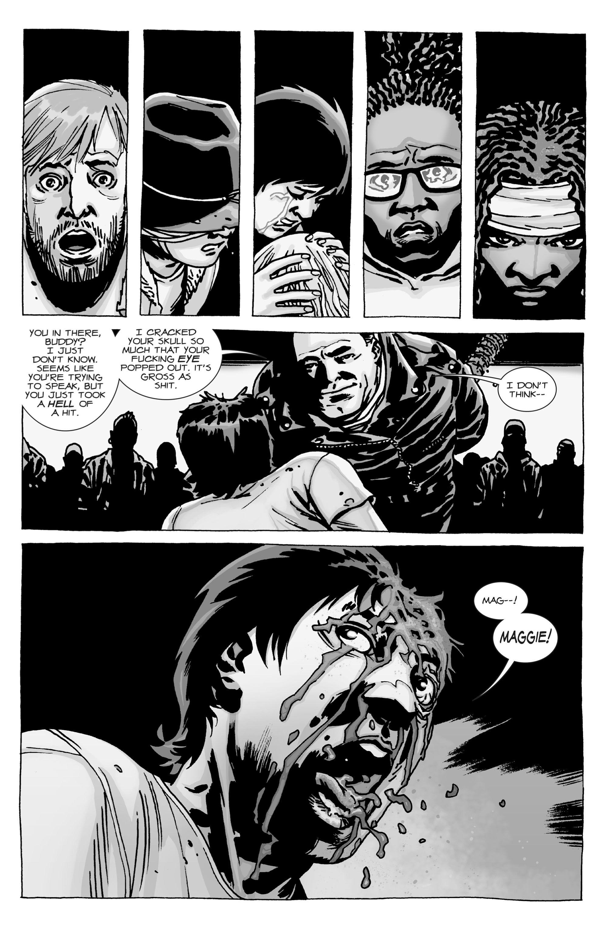 The Walking Dead Issue #100 - Read The Walking Dead Issue #100 comic ...