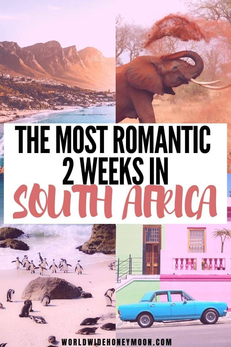 The Perfect South Africa Honeymoon Itinerary For T