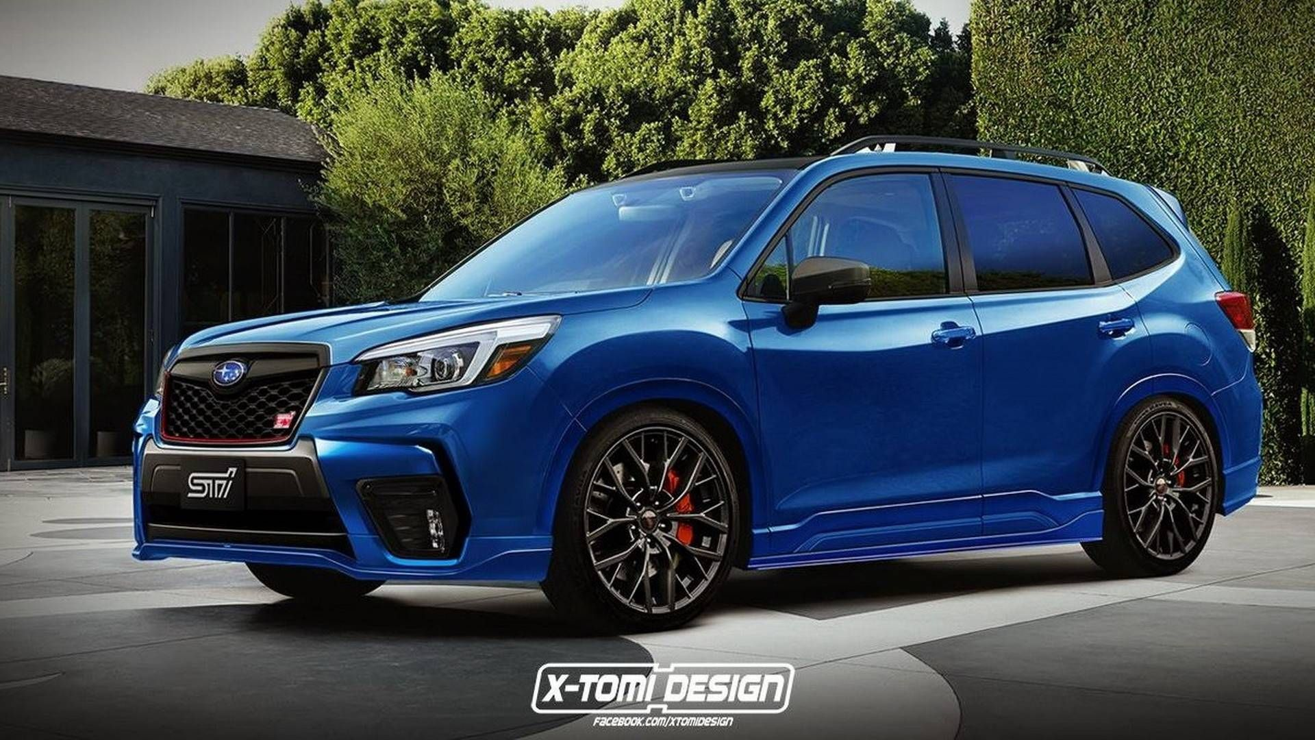 2019 Subaru Forester STI Render Needs To Happen In Real