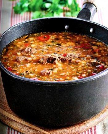 рецепты суп харчо
