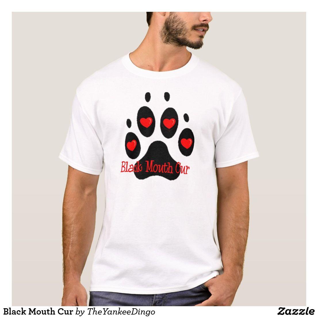 Black Mouth Cur T-Shirt   Zazzle.com