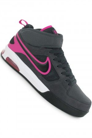 d14939eea68 Nike SB Air Shadow Mid Shoe (anthracite black pink foil) buy at skatedeluxe