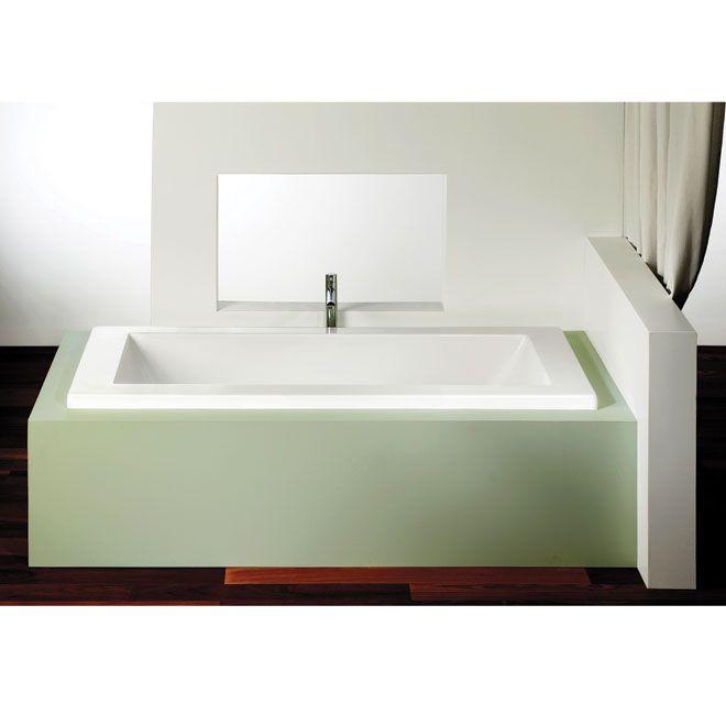 "plenitude"" podium bathtub | bathrooms | pinterest"
