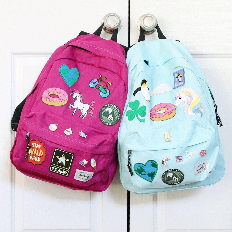 DIY Backpacks for School | Crafts for Kids | Diy backpack, Backpack