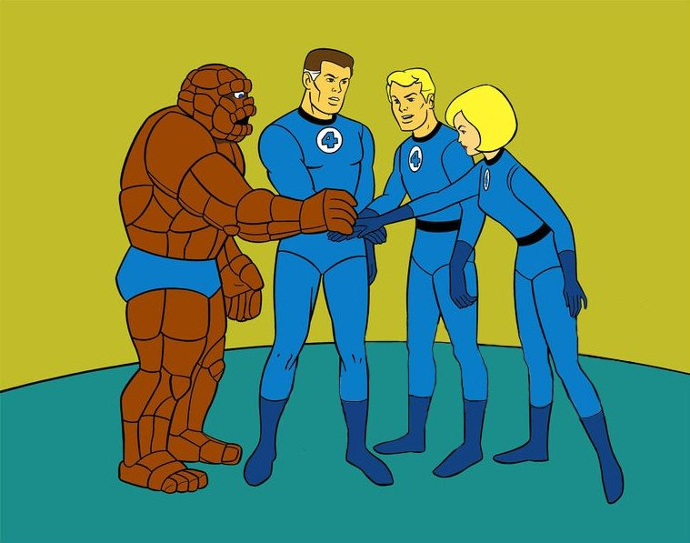 From Hanna Barbera S Fantastic 4 Old Cartoons Classic Cartoons Cartoon Tv