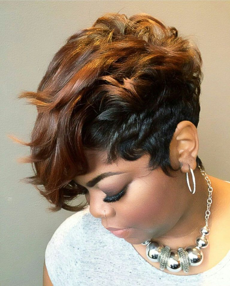 21 Best African American Hairstyles With Color Haircuts Hairstyles 2021 Short Weave Hairstyles Short Hair Styles Hair Styles