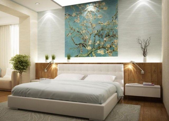 Idées déco chambre à coucher - les couleurs et leur langage   Bois ...