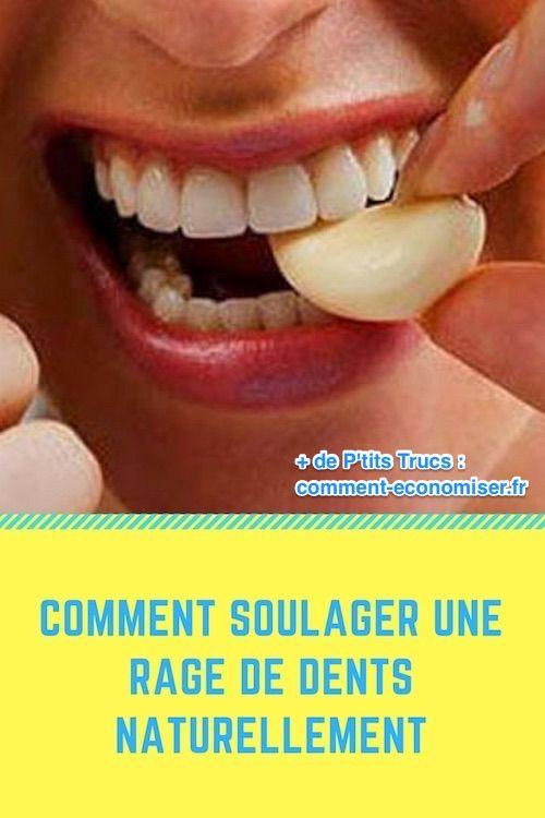 comment calmer le mal de dent naturellement