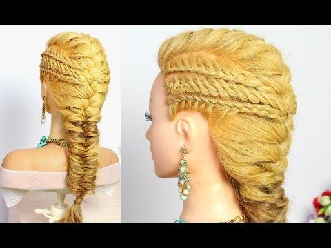 Hairstyles For Long Hair Combo Braids For Party Everyday Youtube Long Hair Styles Long Hair Tutorial Hair Styles