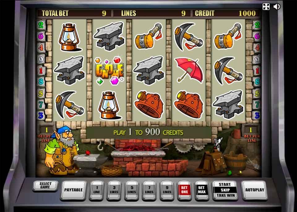 Игровой автомат гном играть онлайн