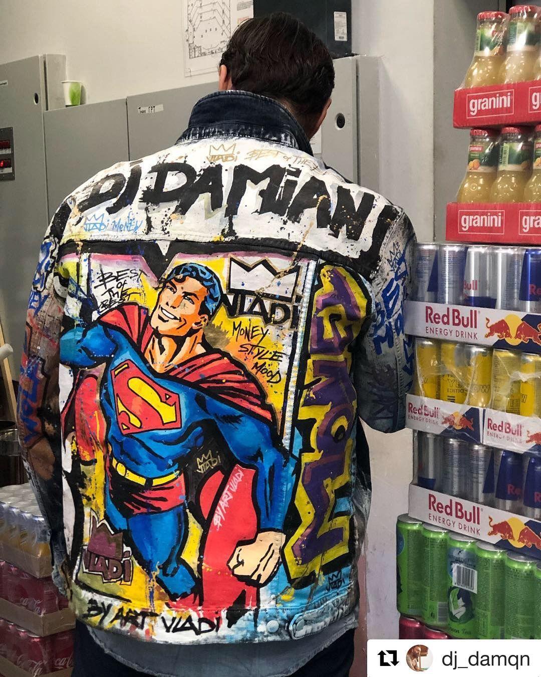 superman denim denimjacket jeansjacket style