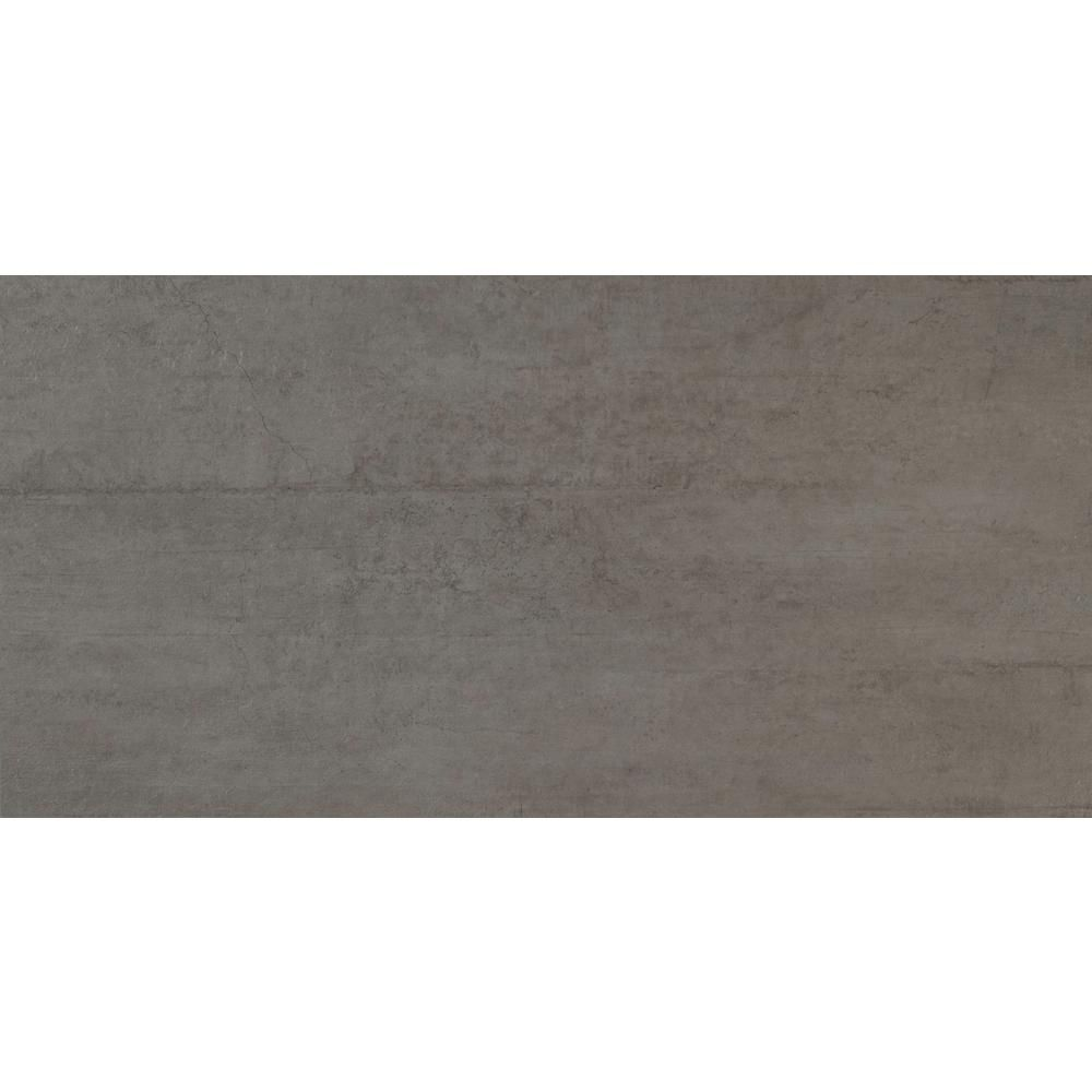 MS International Cemento Novara 12 in. x 24 in. Glazed Porcelain ...