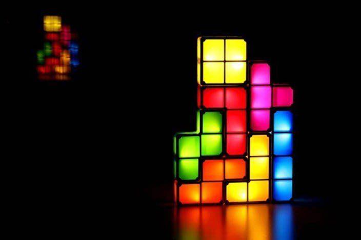 Fancy Tetris Lights With Images Night Light Diy Lamp Led Lamp Diy