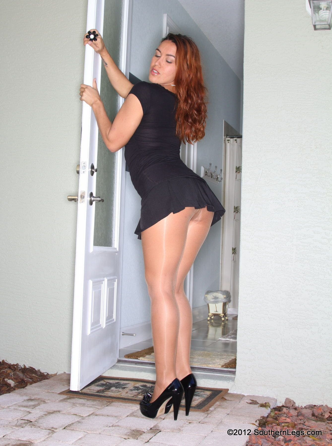 Lookin her hot model pantyhose you much.&nbsp