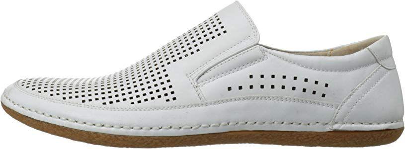 0a426b9ce9c1f Amazon.com | Stacy Adams Men's Northshore Slip-On Loafer, White, 8.5 ...