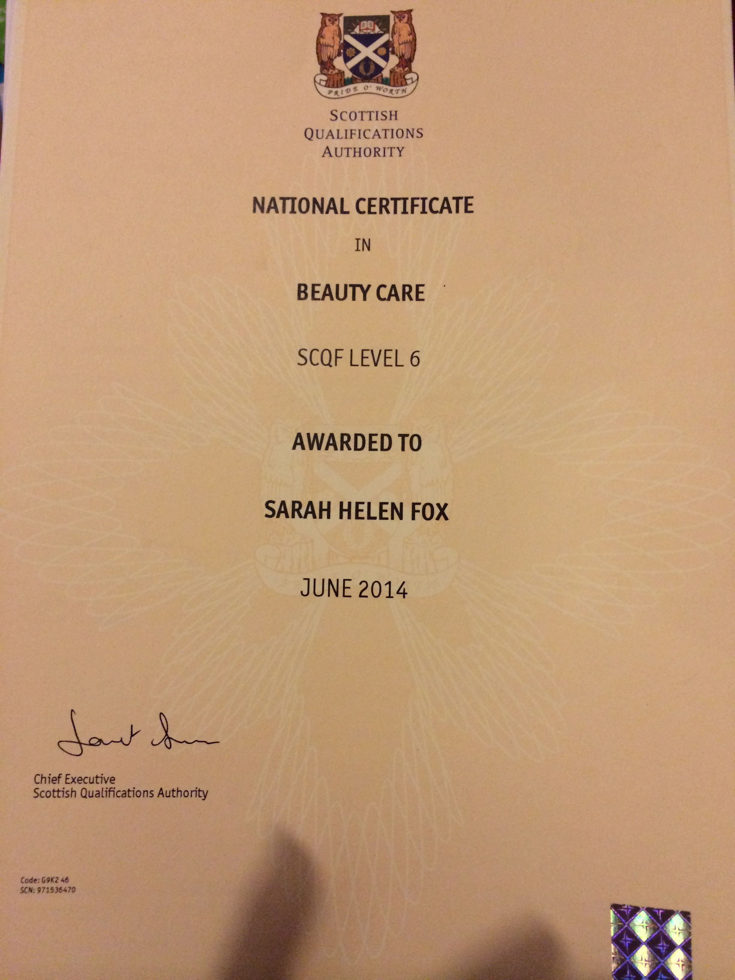 Food hygiene certificates and qualifications pinterest certificate fandeluxe Choice Image