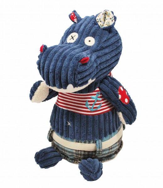Przytulanka Les Deglingos Hipopotam