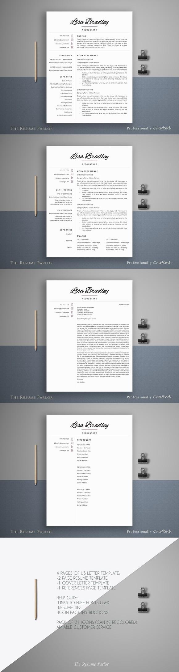Resume Template  Page  Banker Cv Printables