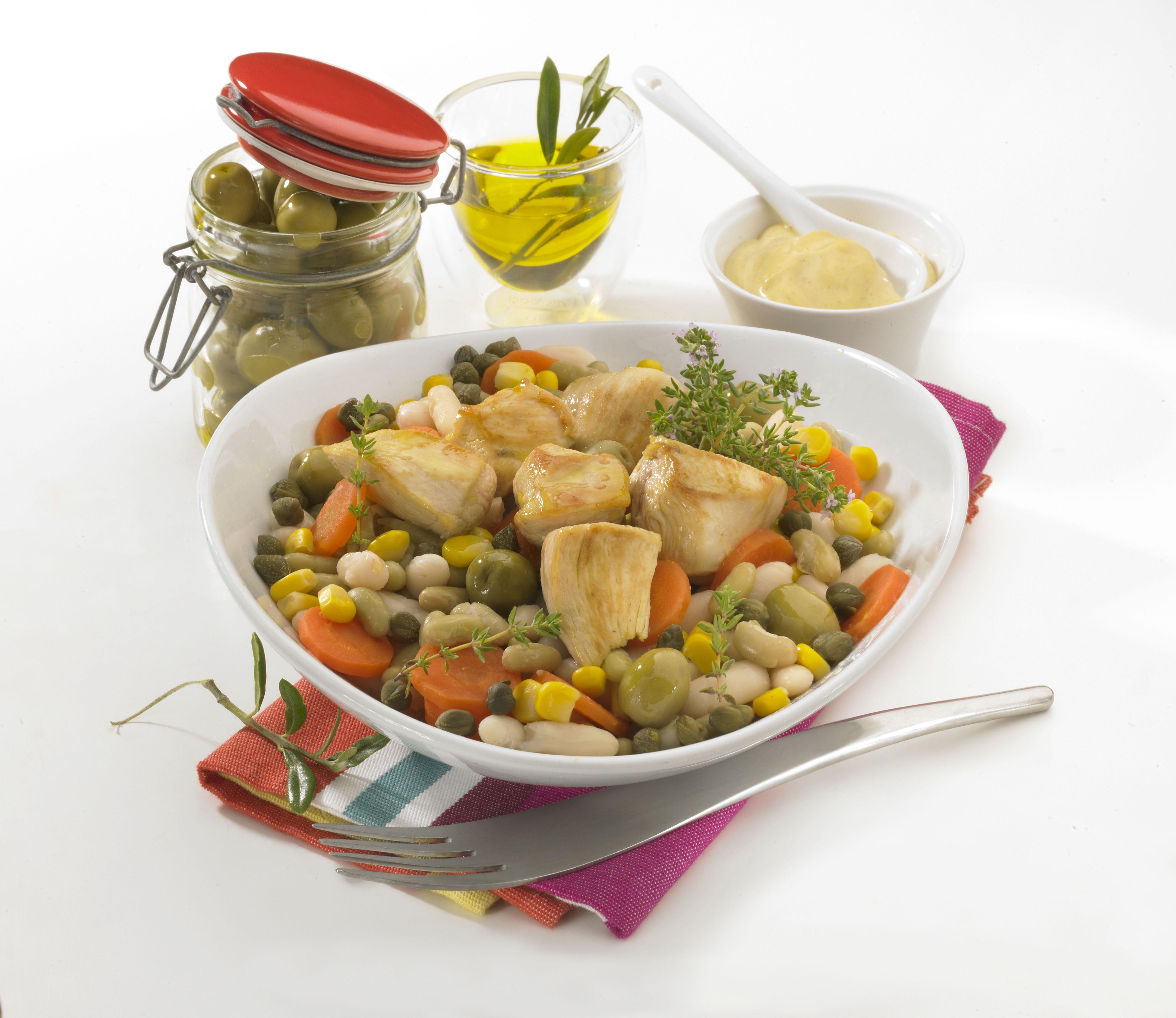 salade m diterran enne aux olives plat sain et quilibr pour maigrir et perdre du poids. Black Bedroom Furniture Sets. Home Design Ideas