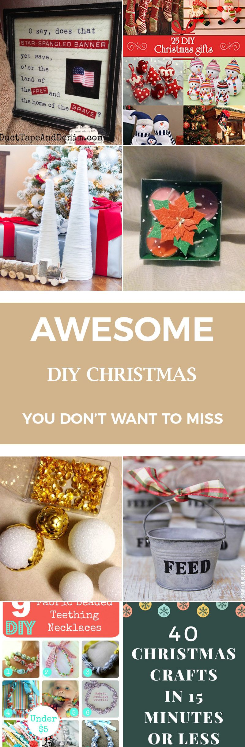 40 Awesome Diy Christmas You Dont Want To Miss