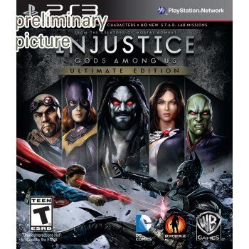 xxx Injustice: Gods Among Us - Standard Edition REPLACE BY 335203 xxx Injustice: Gods Among Us is a fighting game based upon the fictional universe of DC Comics.  Released Nov 12, 2013.