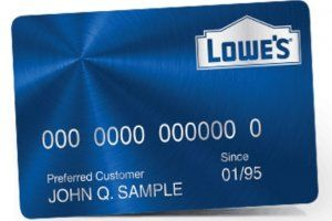 Www Lowes Com How To Apply For Lowes Credit Card In 10 Steps Credit Card Application Store Credit Cards Good Credit