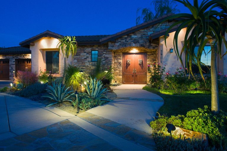 The right #LandscapeLighting will enhance outdoor beauty and