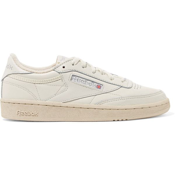 66af9cb143aa2 Reebok Club C 85 Vintage leather sneakers (£70) ❤ liked on Polyvore  featuring