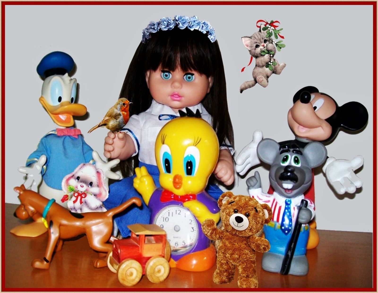 """A HAPPY CHILD   ---   SEE THE VIDEO OF THIS DOLL:  """"SHOW AND RARE BEAUTY"""""""
