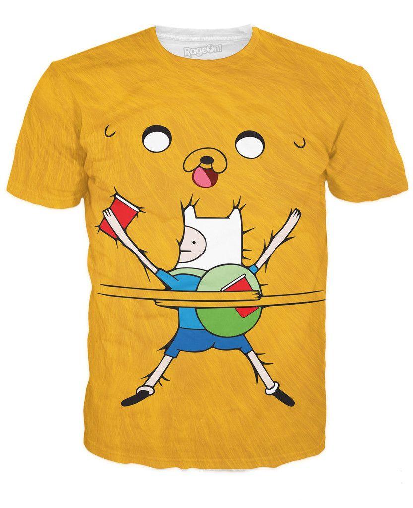 16c1ba8ff Bro Hug V2 T-Shirt Jake E Os Cães