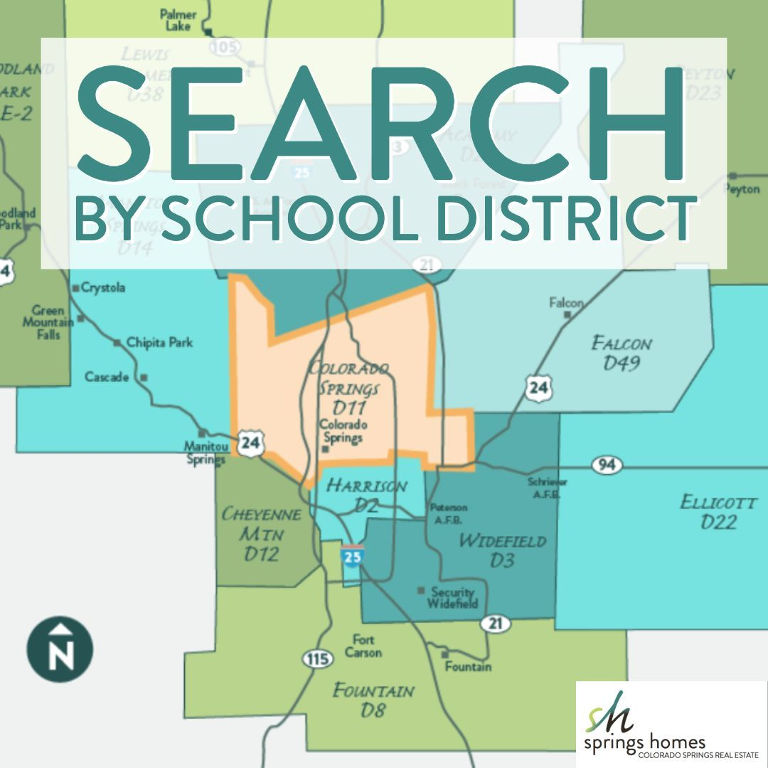Colorado Springs School District 11 Homes for Sale: See the ...