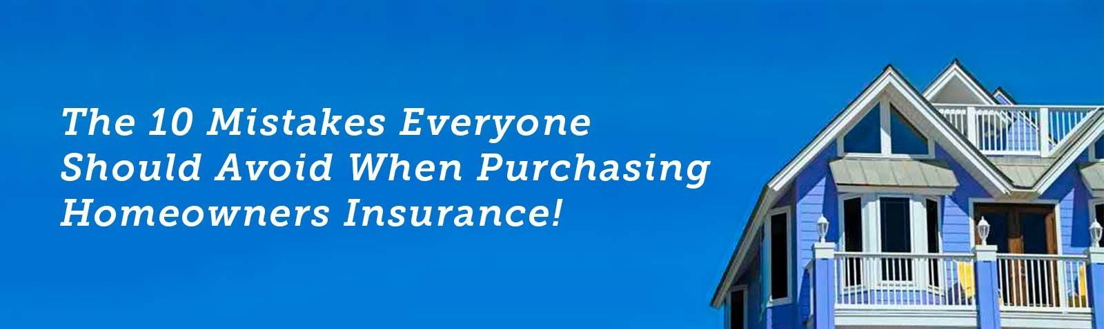 Purchasing homeowners insurance in Florida can be